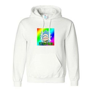 Women's Ricky and Morty Pullover Hoodie